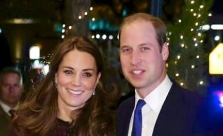 Kate Middleton and Prince William Smiling