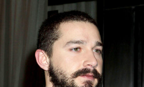 Shia LaBeouf with a Beard
