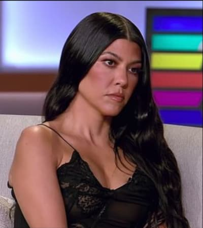 Kourtney Kardashian at the 2021 Reunion