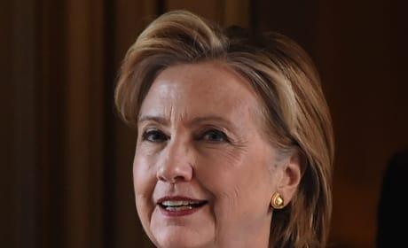 Hillary Clinton in Blue