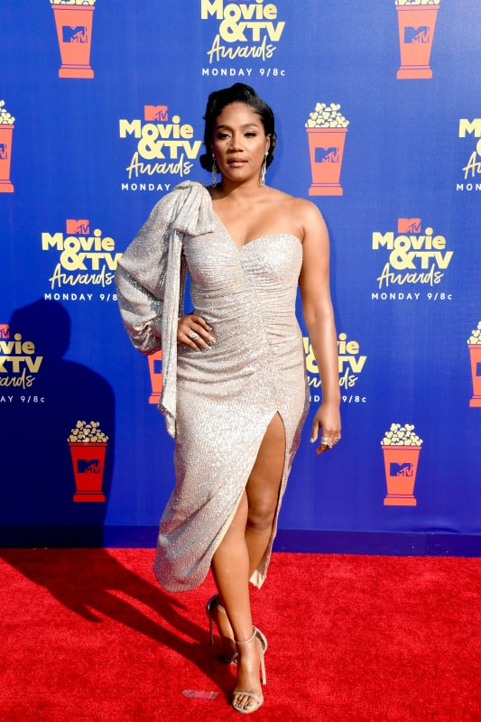 Tiffany haddish at mtv movie and tv awards