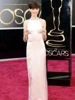 Anne Hathaway Oscar Dress 2013