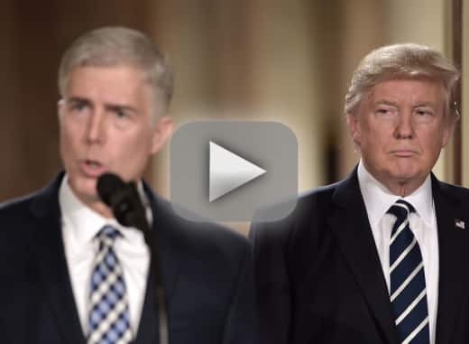 Neil gorsuch who is donald trumps supreme court nominee