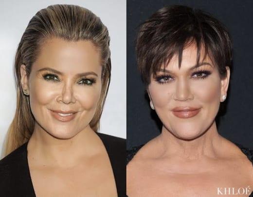 Khloe Kardashian Face Swaps With Rob Kardashian and Kris ...