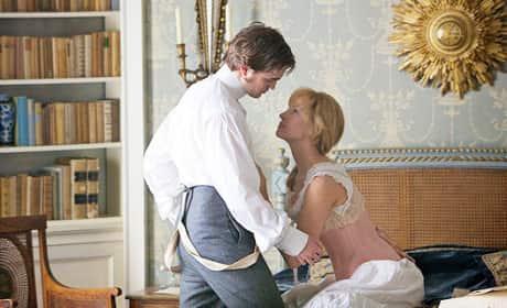 Robert Pattinson and Uma Thurman
