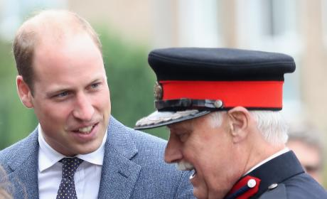 Prince William Jokes With Vice Lord Lieutenant of Essex