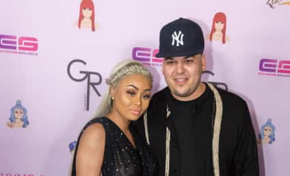Rob Kardashian and Blac Chyna: Already Picking Out Godparents!