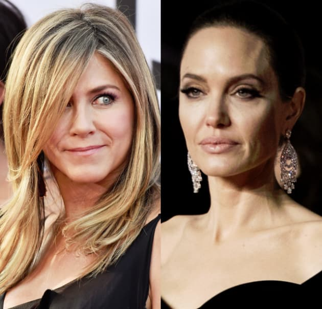 Jennifer Aniston So Excited About Angelina Jolies Life Falling Apart The Hollywood Gossip