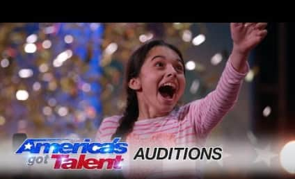 Laura Bretan Earns Golden Buzzer on America's Got Talent