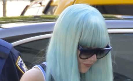 Amanda Bynes, Blue Hair