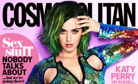 Cosmo Cover of Katy Perry