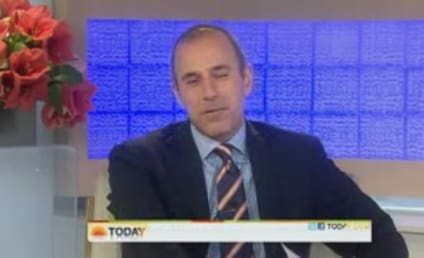 Katie Couric and Matt Lauer: Reunited on Today!