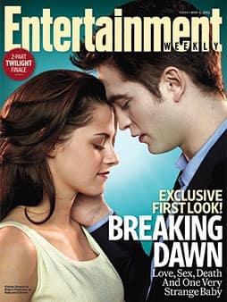 Robert Pattinson and Kristen Stewart EW Cover