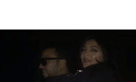 Kylie Jenner: French Montana Piggyback Video