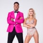 Rashad Jennings and Emma Slater
