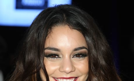 Vanessa Hudgens with Brown Hair