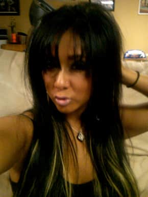 Snooki with Bangs