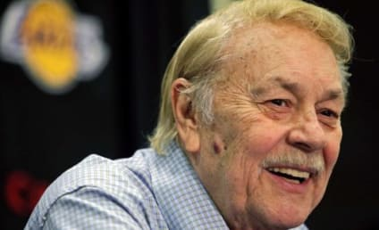 Jerry Buss Mourned By Athletes, Celebrities