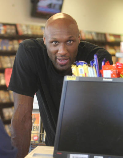 Lamar Odom Shops