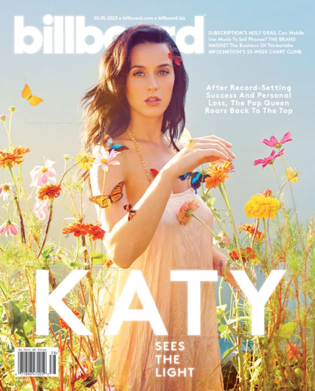 Katy Perry Billboard Cover