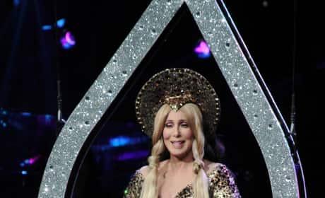 Cher as Virgin Mary