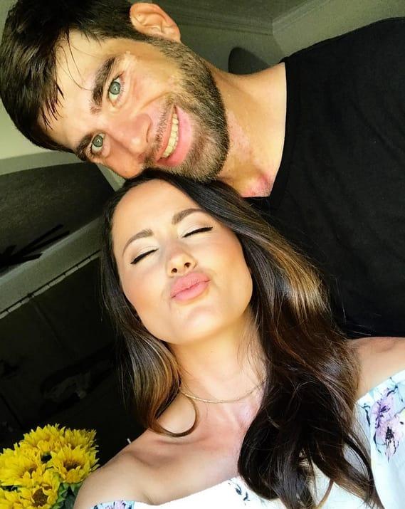 Jenelle Evans' Kissy Face with David Eason