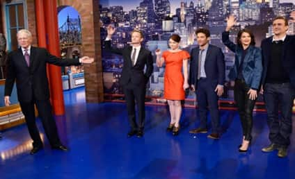 How I Met Your Mother Cast Reads Late Show Top 10