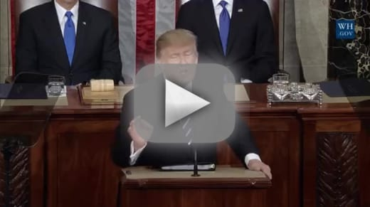 Donald trump address to congress that was presidential