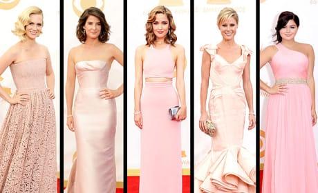 Whose pink Emmy dress is best?