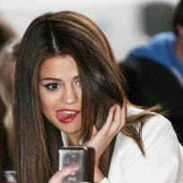 Selena Gomez Being Silly