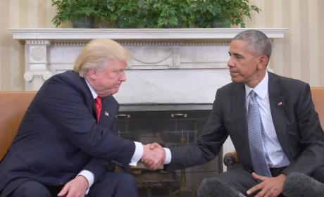 The Handshake!