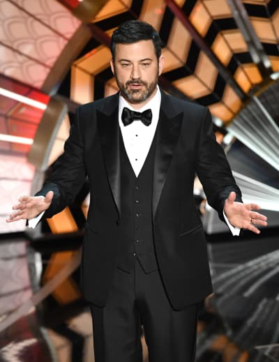 Jimmy Kimmel Monologue Photo