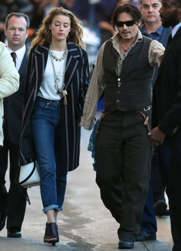 Johnny Depp, Amber Heard Image