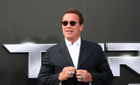 Arnold Schwarzenegger at Movie Premiere