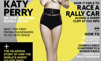 Katy Perry: Topless in Esquire