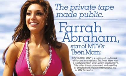 Farrah Abraham Sex Tape: Used, Unwashed Bikini For Sale!