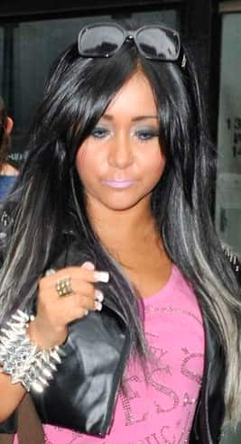 Snooki, Blue Eyes