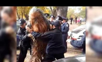 Chewbecca: Arrested in the Ukraine!!!!!!