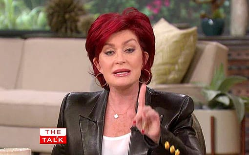 Sharon Osbourne on The Talk