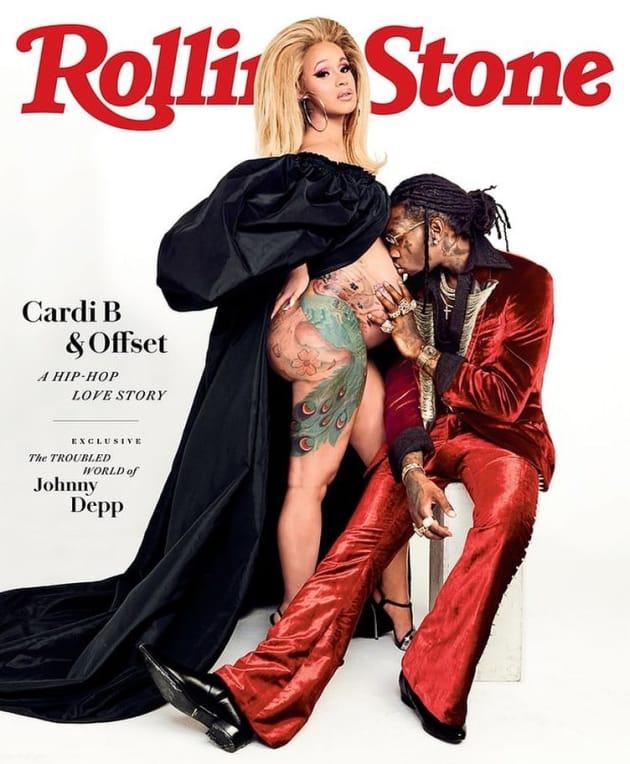Cardi B Rolling Stone Cover