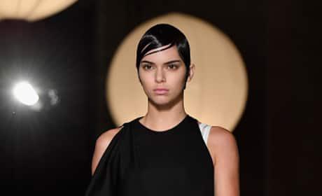 Kendall Jenner At Givenchy Paris Fashion Week