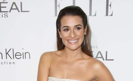 Lea Michele: Skinny on First Red Carpet Since Tragedy