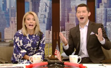 Richard Curtis: Could He Actually Co-Host Live with Kelly?!?