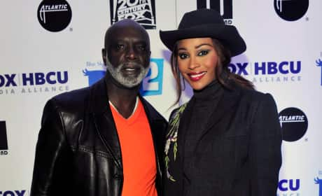 Cynthia Bailey with Peter Thomas