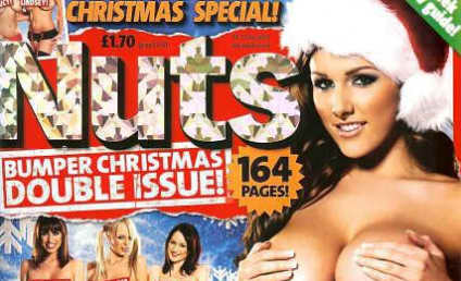 Lucy Pinder, Naked, Wishes You a Merry Christmas!