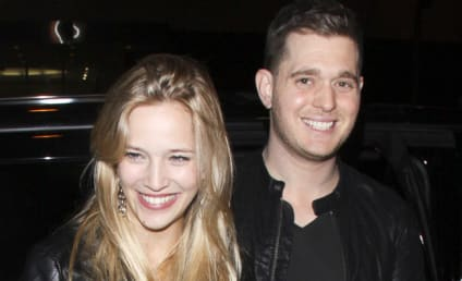 Michael Buble Wishes Emily Blunt the Best