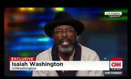 "Isaiah Washington to Chris Rock: #Adapt to Racial Profiling, ""War"" with Police!"
