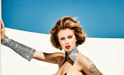 Ireland Baldwin: Naked For Treats Magazine!