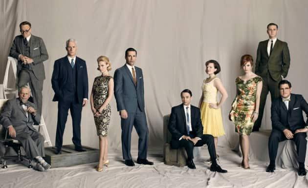 Mad Men Cast Photo