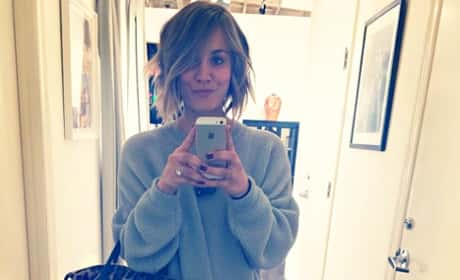 What do you think of Kaley Cuoco with short hair?